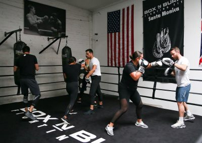 Group Fitness and Boxing Classes at Box in Burn with 2 gyms in Los Angeles