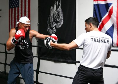 Train with world class personal trainers in boxing