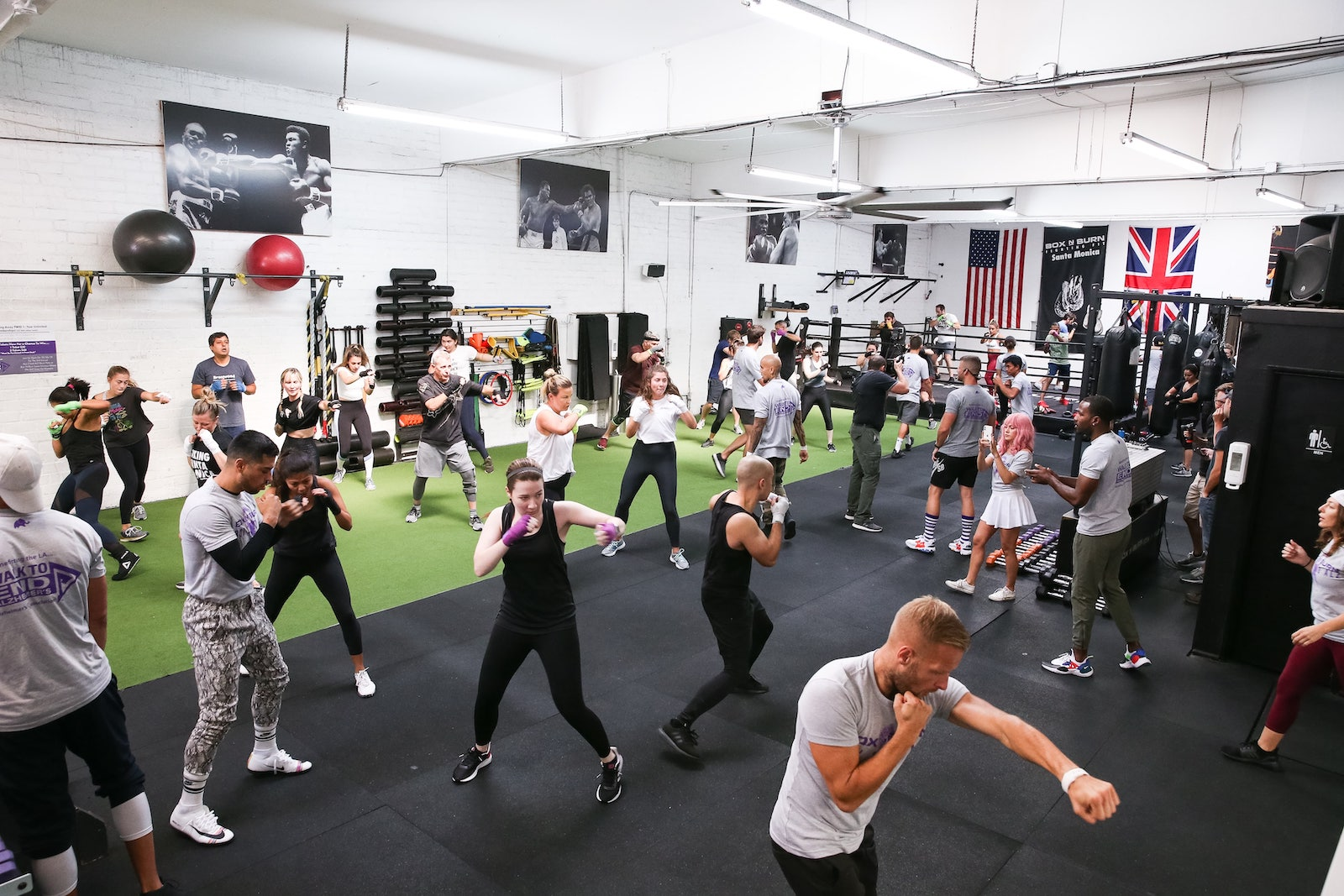 Be a part of a great fitness community at Box N Burn