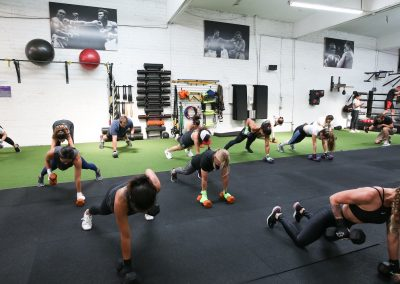 Find sweat and strength in numbers at Box N Burn