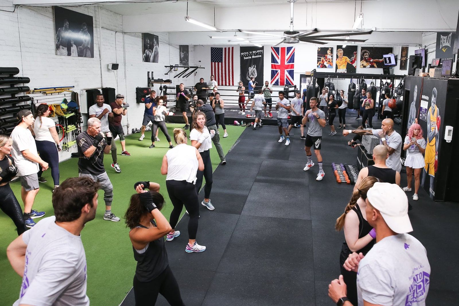 Great fitness community at Box N Burn