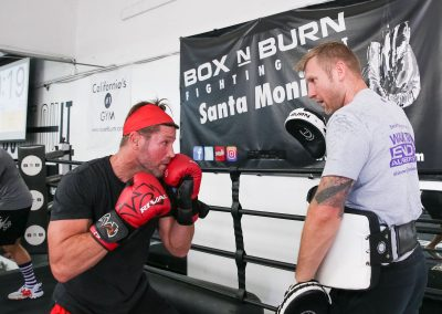 Train like a pro at Box N Burn Fitness