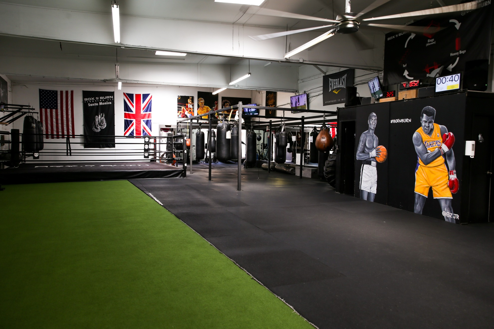 Santa monica large boxing gym for rent to film industry